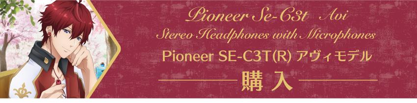 Pioneer SE-C3T(W) アヴィモデル