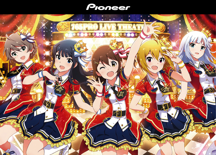 Pioneer SE-CH9T ML!「THE IDOLM@STER」コラボモデル