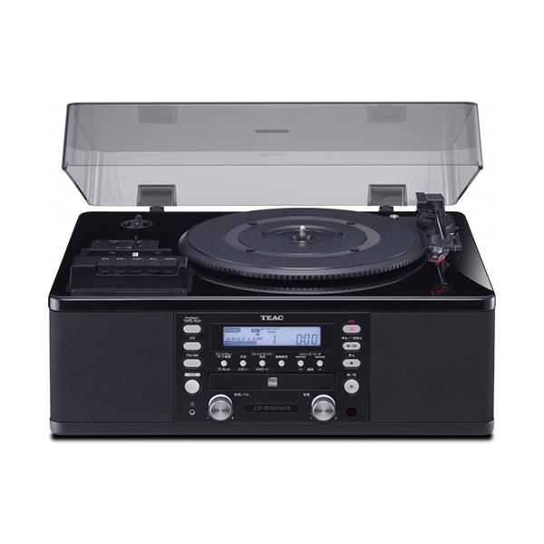 TEAC LP-R550USB-P/PB (ピアノブラック) ターンテーブル/カセットプレーヤー付きCDレコーダー