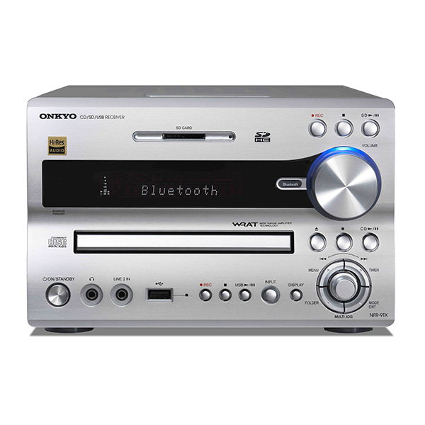 ONKYO NFR-9TX(S) Bluetooth�Ή�/CD/SD/USB���V�[�o�[ �n�C���]�����Ή� 3�N�ۏ�