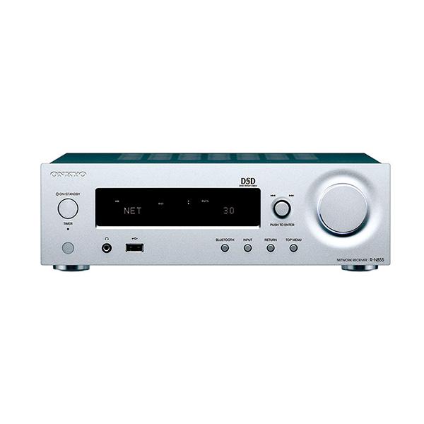 ONKYO R-N855(S) ネットワークレシーバー ハイレゾ音源対応 3年保証 <特典付>