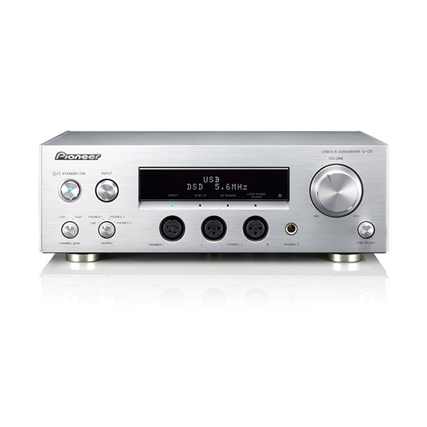 Pioneer U-05 USB DAC ヘッドホンアンプ内蔵 ハイレゾ音源対応