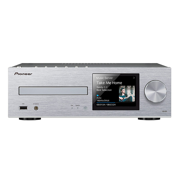Pioneer XC-HM86-S �l�b�g���[�NCD���V�[�o�[ �n�C���]�����Ή� Bluetooth/AirPlay/DLNA ���T�t