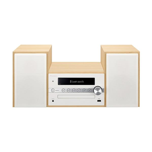 Pioneer X-CM56-W CDミニコンポーネントシステム Bluetooth機能搭載