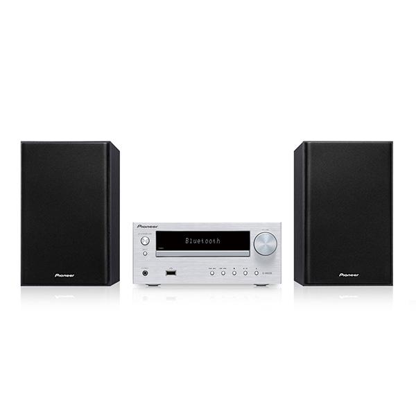 Pioneer X-HM26(S) CDミニコンポーネントシステム Bluetooth機能搭載