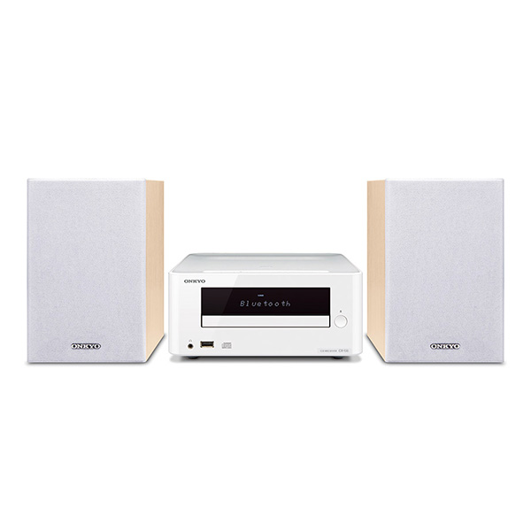 ONKYO X-U6(W) CD���V�[�o�[�V�X�e�� iPod/iPhone/iPad & Bluetooth�Ή� �y3�N�ۏ؁z