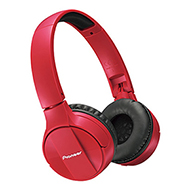 Pioneer SE-MJ553BT-R Bluetoothヘッドホン