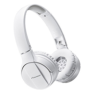 Pioneer SE-MJ553BT-W Bluetoothヘッドホン