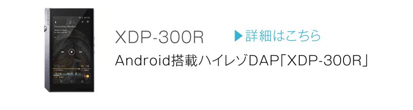 XDP-300R 詳細