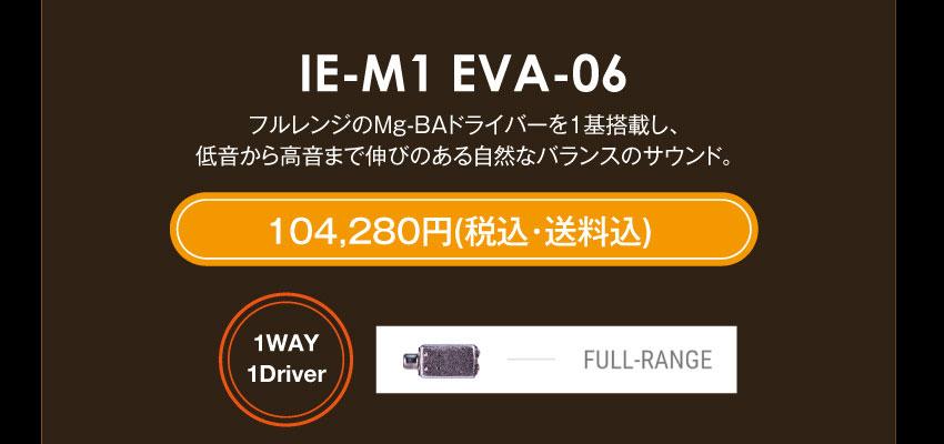 シリーズM IE-M1 EVA-06 104,280円税込・送料込