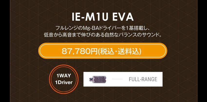 シリーズM IE-M1 EVA 104,280円税込・送料込