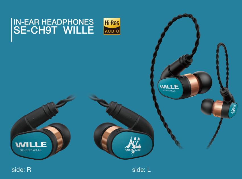 IN-EAR HEADPHONES SE-CH9T WILL