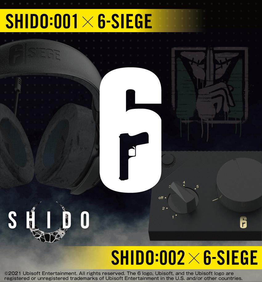 SHIDO 001ヘッドセット・002コントローラー Rainbow Six Siege コラボモデル