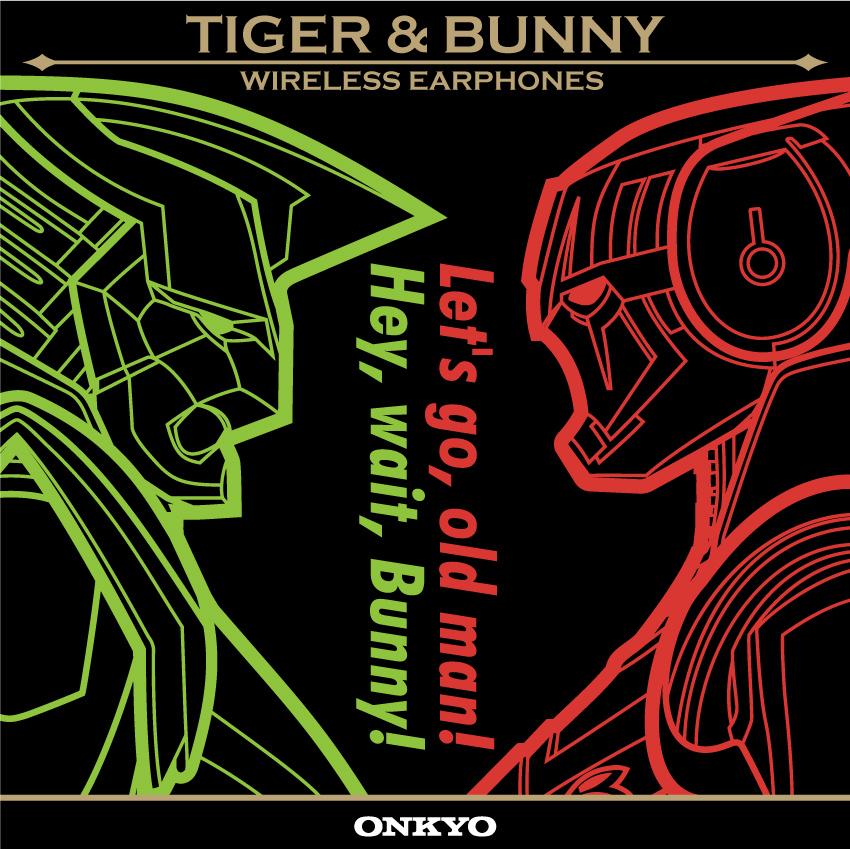 ONKYO IE-CM5TW(B)  ワイヤレスイヤホン TIGER & BUNNYコラボモデル