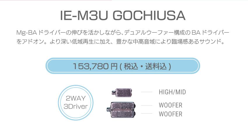 シリーズM IE-M3U USA 170,280円税込・送料込