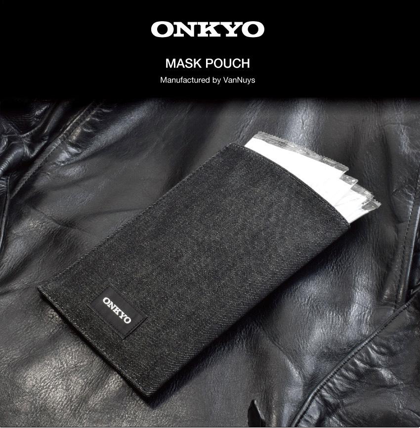 ONKYO MASK POACH オンキヨーマスクポーチ VanNuys 製造